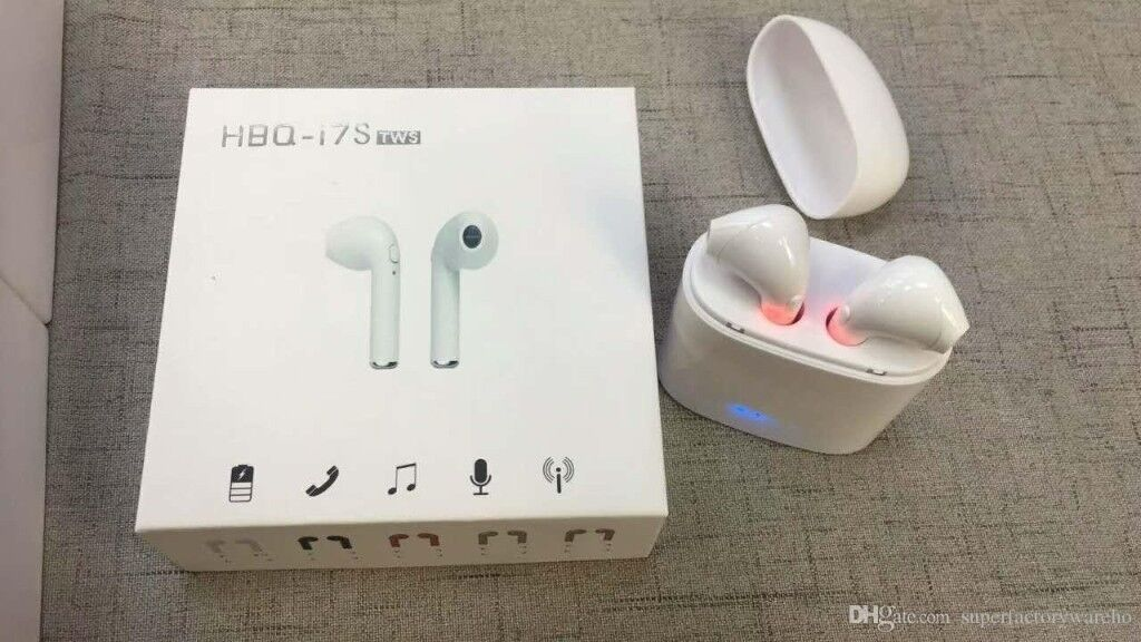 36f3a6bac8d HBQ i7 TWS Twins True Wireless Earbuds Mini Bluetooth Stereo Headphone For  iPhone 7 Galaxy S