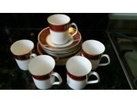 Vintage Bone China Coffee / Tea Set