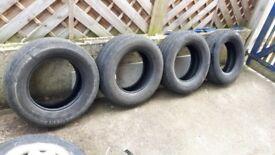 4 Van tyres 235/65 R16C Continental