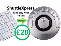 ShuttleXpress by Contour Design - Jog & Shuttle Controls for Video Editing Apps - Games - Music Apps