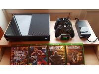 MINT Condition Xbox One (2 Controllers (w/ twin charging dock), 15 games to choose from