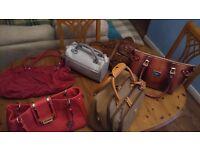 Six Ladies Hand/Shoulder bags
