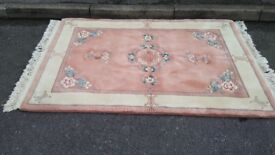 Very nice and soft tick rug its keep warm in home in good condition! Can deliver or post