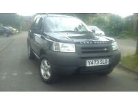 QUICK sale LAND ROVER FREELANDER 1 year mot!!!!