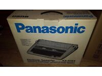 electronic typewriter ..panasonic