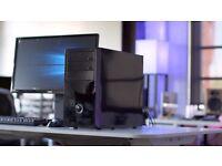 Brand New 1080p Gaming PC - Quad Core + Radeon R7 360 Graphics + SSD