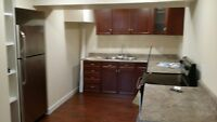 New west end basement suite. Includes all utilities