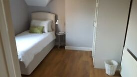 Large single room to rent in a friendly home and within a beautiful village