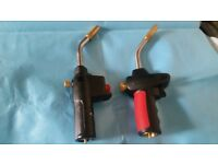 have couple of brand new blow torches for soldering copper pipe ring for more info