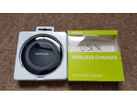Samsung Wireless Qi Charger Charging Station Compatible with Samsung Galaxy S6/S6 Edge - Black