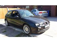 Black MG ZR 1.4 TwinCom 16V PRIVATE Number((T2WLH))Half Lather ,FSH/12 Mths MOT