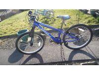 2 x mountain bikes 24 inch wheels