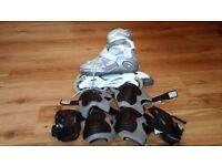 Set Fila roller skate size 6