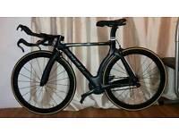Bike mans pinarello full carbon time trial bike