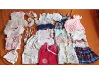 Baby girl 0-3 months bundle.