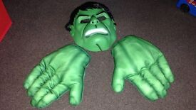 Hulk mask and hands