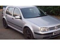 2001 Silver Volkswagen Golf MK4 - 1.9 TDI SE - AUTOMATIC - 5 DOOR (100 BHP)
