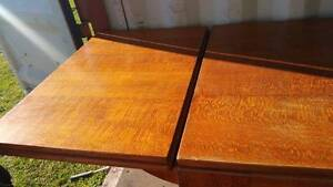 Solid Silky Oak Extension Dining Table 8 Chairs, Buffet and Hutch Redland Bay Redland Area Preview
