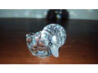 Swarovski Crystal Swimming Duck
