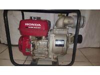 Honda WB 30 XT 160 water pump generator