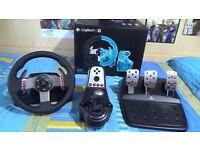 Logitech g27 Racing Wheel PC/PS4