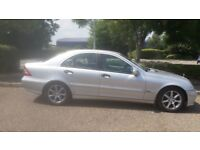 2005 MERCEDES BENZ C-CLASS C180 KOMPRESSOR AUTO, ( FULL MOT due july 2019 )