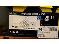 ADIDAS ADIPOWER BOOST 2 WD GOLF SHOES - BRAND NEW IN BOX