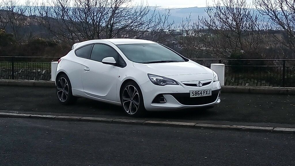 Vauxhall Astra Gtc Limited Edition Vxr Interior In Gourock
