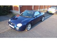 MGF 2000 W, Great cheap summer car, Only 63k miles, 12 months MOT, Good condition, Service history