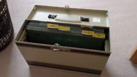 metal filing case lockablefor fullscap files