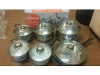 Pots and pans set new