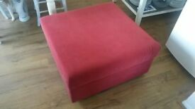For sale Pouffe, used but in good condition, 80cmx80cm