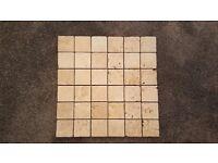 Stone Mosaic Tiles - 49 sheets.
