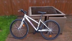 BICYCLE MOUNTAIN BIKE - WHITE