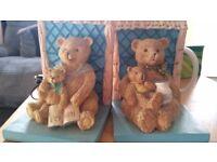 Teddy bear book ends