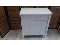 CHEST OFF DRAWERS 2 OVER 3 WHITE OAK EFFECT
