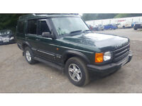 LAND ROVER DISCOVERY TD5 AUTOMATIC 7 SEATER. 153000 MILES MOT APRIL