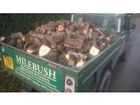 Dry & Seasoned Logs (Open Fire/ Wood Burner) £125