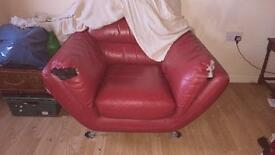 Sofa & Chair with footstool