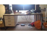 Superb German Office Desk 1600(W)x800(D)x710(H) Must go!