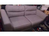 2 x 3 Seater Sofa (Slate Grey)