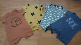 Next baby summer rompers 6-9 months