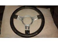 Original Vintage Mountney Steering Wheel
