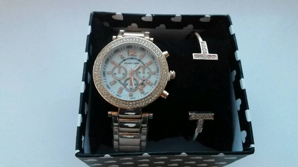 Brand new watch and bracelet