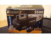 Beamz S500 smoke machine