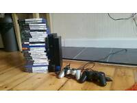 Playstation 2 (50+ Games 2 Controllers, Memory Card)