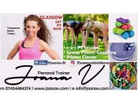 Personal Trainer Glasgow, GET FIT NOW, Weight loss, Nutrition, Motivation, Joana V