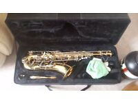 Used tenor sax