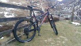 Whyte G160 rs works spec ,eagle and Hope pro 4