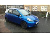 HONDA JAZZ 1.3 START AND DRIVE SPARES OR REPAIR MINOR UNRECORDED DAMAGE